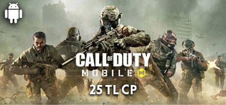 Call Of Duty Mobile (CP) Google Play 25 TL