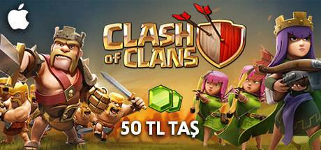 Clash of Clans Taş 50 TL Apple Store