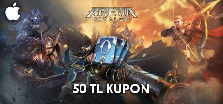 Arena Of Valor Kupon Apple Store 50 TL