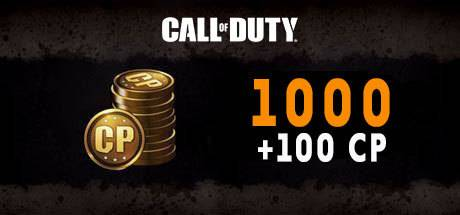Call of Duty Black Ops 4 1000 + 100 CP Points