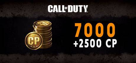 Call of Duty Black Ops 4 7000 + 2500 CP Points