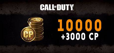 Call of Duty Black Ops 4 10000 + 3000 CP Points